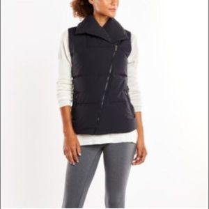 Lucy Hatha Vest - Black Medium